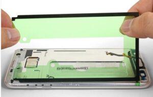 تعویض چسب نمایشگرگوشی سامسونگ S7 Edge