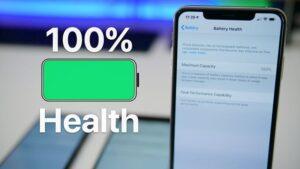 تست سلامت باتری